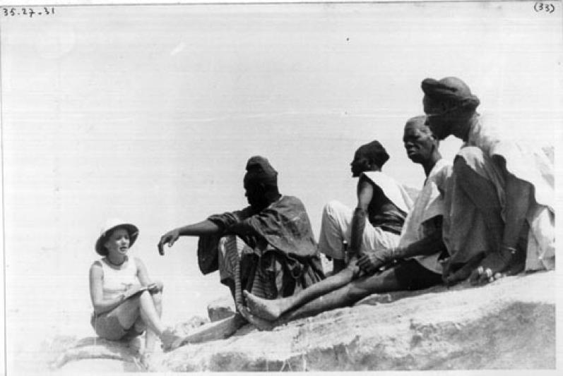 Mission Sahara Soudan, 1935